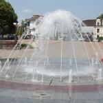 Сезон фонтанів у Борисполі відкрито