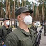 У Міжнародному центрі НГУ: молоді гвардійці склали військову присягу
