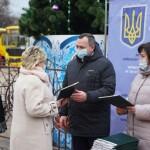 Бориспільській громаді подарували шкільний автобус