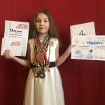 Бориспілька Поліна Кірсанова втретє здобула перемогу у конкурсі від фонду Кучми