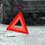 Через негоду загальна кількість ДТП у Борисполі зросла на 15%