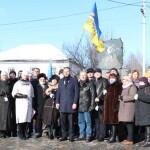 У Борисполі вшанували пам'ять Героїв Небесної Сотні