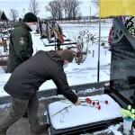 Гвардійці Міжнародного центру НГУ вшанували пам'ять Степана Криворученка