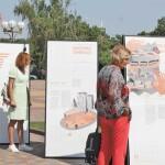 Побачити і почути історії життя «На Зламі»: у Бориспіль приїхала мандрівна виставка про війну на Донбасі