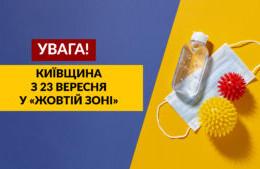 київщина у жовтій зоні